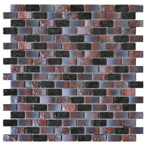 Foshan Ralart Mosaic's Glossy Purple Gradients 15*30 Rectangle Recycled Glass Mosaic for Bathroom, Kitchen Backsplash, Spa, Swimming Pool and Wall Decoration