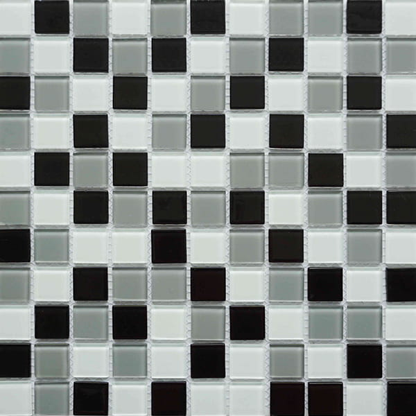 Black and White Swimming Pool Mosaic for Sale